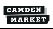 Raw Cookery Demo at Camden Market