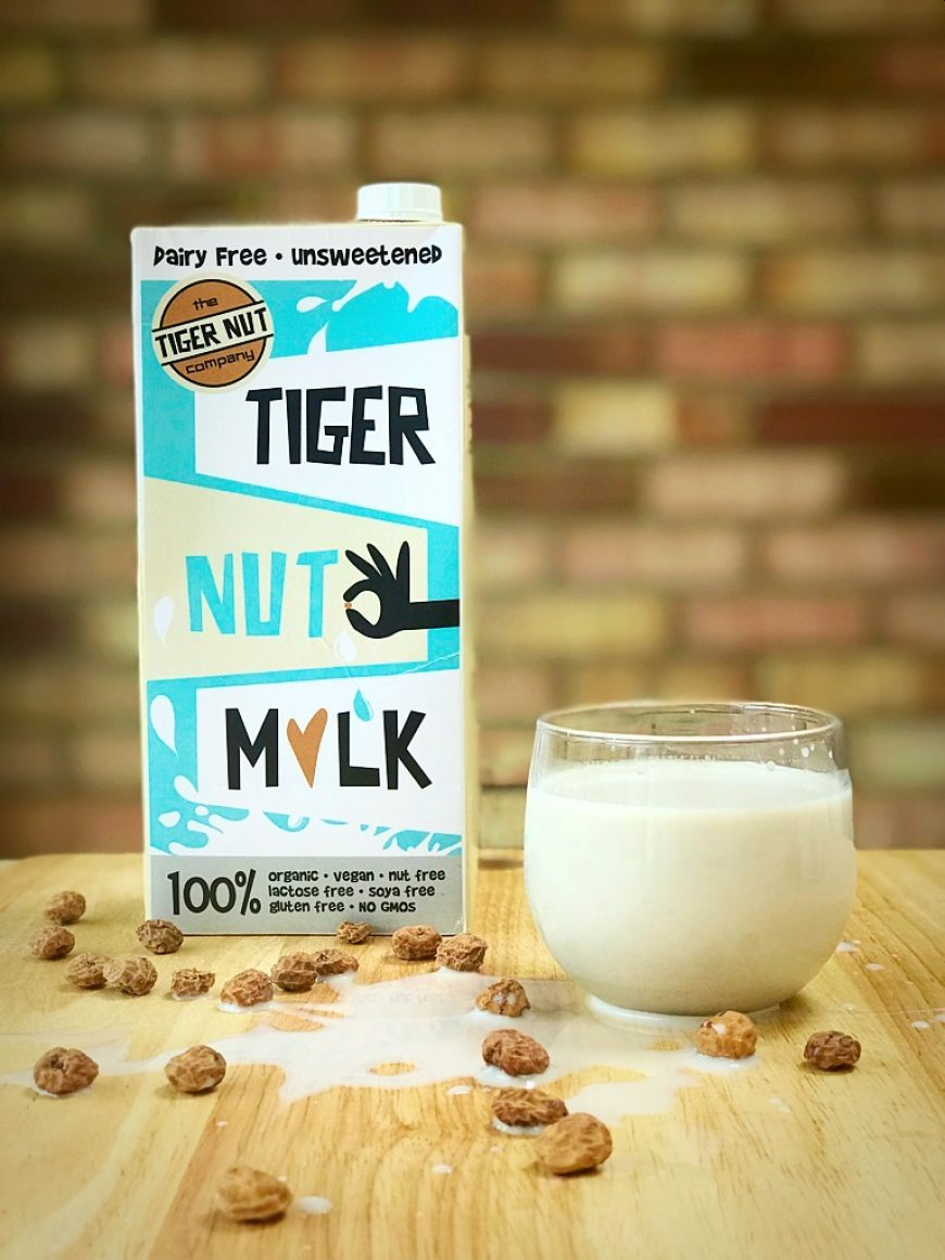 Our NEW look Tiger Nut Milk has landed!