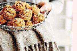 Tiger Nut & Sweet Potato Scones
