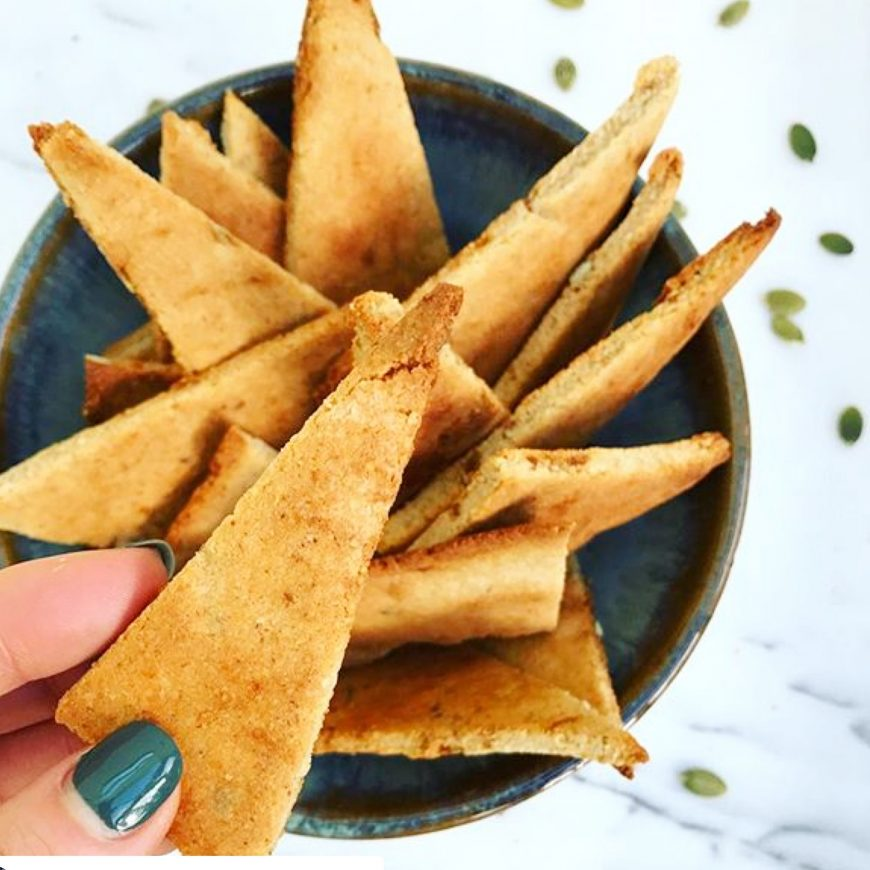 Miso, Fig and Pumpkin Crackers!