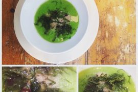 Easy Pea-sea Soup