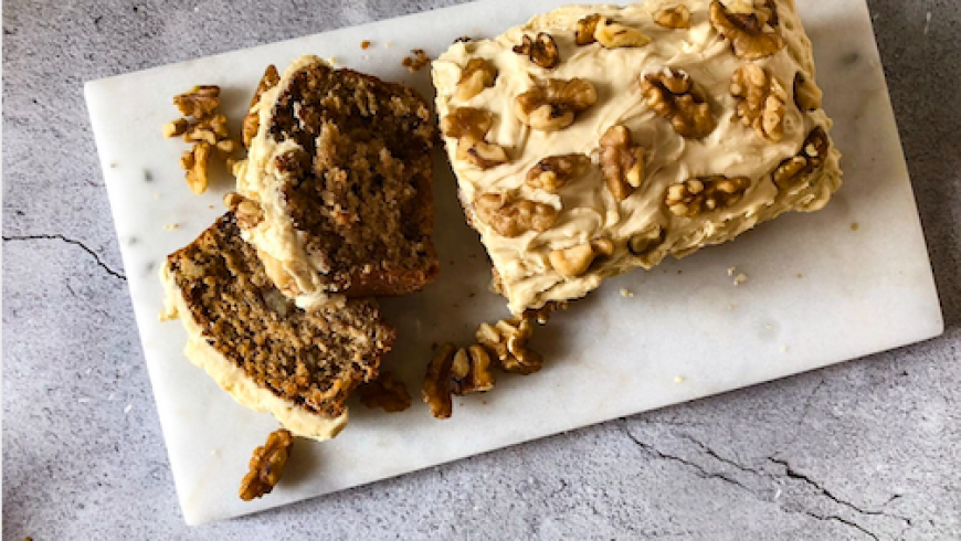 Tiger Nut, Coffee and Walnut Cake