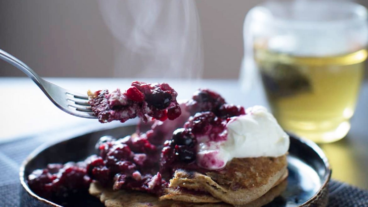 Winter Warming Healthy Pancakes