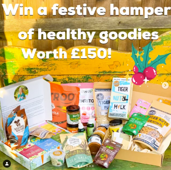 Christmas Healthy Hamper Giveaway!